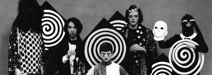 Promotional Image of vanishing twin, featuring the entire band.