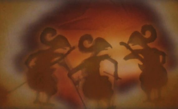 Shadow Puppets from Music Video for Eyes Shift in Travel